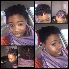 It's really crazy how worried I was about my natural hair today and wearing it to work. I know at my previous place it always irked my nerves how everyone would stare, comment or touch it. People would say things like it looks so soft. How do you get it to grow like that.  . My #DIY #NaturalHair #BluePurpleDye #BantuKnots #kinky #curly #kinks #Naturalista #TwoStrandTwistOut #Bantu #Knots #Fros #Fades #IamNotMyHair #MustGetTheseCoins #MyDailyBeat #NaturalGlow #DIY #DIY