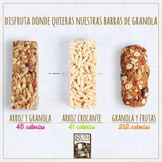 ¡Una #Barra de cereal siempre será una buena opción para cualquier hora del día! Completa tu alimentación con la #NutriciónCreativa de  #SusiPanadería!