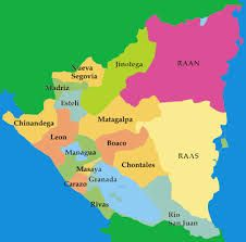 Nicaragua Mapa Buscar Con Google Managua Carazo Rio San Juan