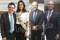 Michelle Gomez along with ministers during Air Quality report in Colombia