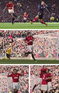 van persie's goal vs arsenal