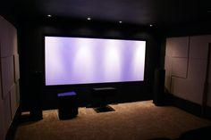 My New Home Theater 2.0, Staggered Wall HT. 1 of 2