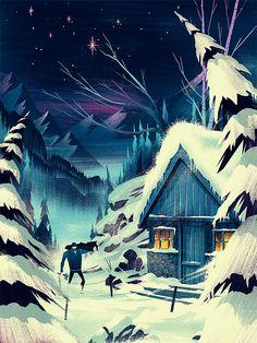 Fantastic Illustrations by Brian Edward Miller