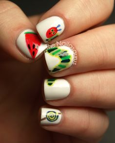The Hungry Hungry Caterpillar! | from The Nailasaurus: Inspired by a Book