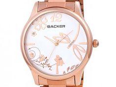 Relógio Feminino Backer 3065113F Analógico - Resistente à Água com as melhores condições você encontra no Magazine Tiotoninho. Confira!