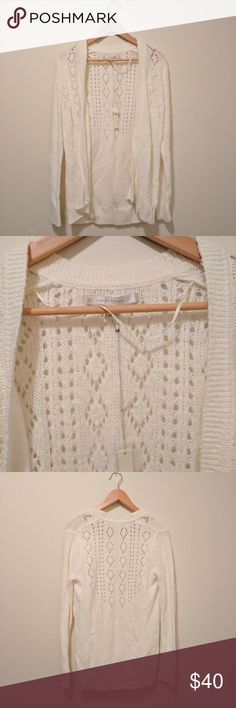 NWT LC Lauren Conrad Knit Cardigan The cardigan is super soft and looks great with almost anything. I love the fact that it's so versatile. You can dress it up or down.  Size small.  Bundle and save or feel free to make an offer! I accept most reasonable offers. LC Lauren Conrad Sweaters Cardigans