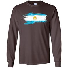 argentina flag 4-01 LS Ultra Cotton Tshirt