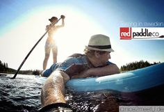 Red Paddle iSUP Board. Stand up paddeling in sweden. Pictures and Video.
