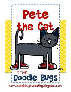 Pete the Cat by Eric Litwin is just an awesome book! Cool Pete steals everyone's heart.. including mine! By Doodle Bugs Teaching