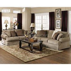 Sheffield   Platinum Living Room Set