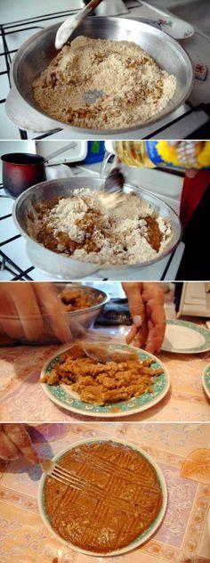 Armenian HALVA #recipe, photo: Nazik Armenakyan