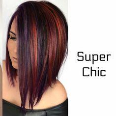 Bold Hair Color, Beautiful Hair Color, Pretty Hairstyles, Easy Hairstyles, Short Hair Cuts, Short Hair Styles, Hair Hacks, Hair Tips, Hair Again