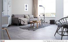 groot grijs - vtwonen by Douglas & Jones Loft – Loft Grey - vtwonen by Douglas & Jones tegelvloeren - foto's & verkoopadressen op Liever interieur