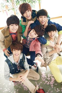 Boyfriend. (remember their debut? gosh what cuties)