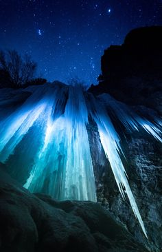 The ice caves of Rifle Mountain Park Colorado [OC][27324240] #reddit