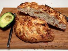Fig jam and lime cordial - focaccia recipe