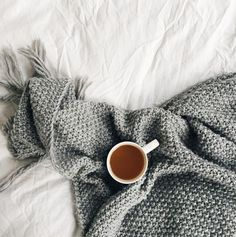 relaxing / tea in bed / cosy
