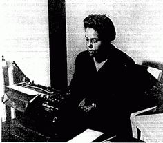 """""""Gwendolyn Bennett was born in Giddings, Texas in 1902. Raised firmly in the black middle class, she attended Columbia University briefly before graduating from Pratt Institute in 1924. She then became an instructor in design at Howard University, worked as an editor at the African American magazine Opportunity, and was one of the founders of the short-lived but critically important New Negro magazine Fire!!..."""""""