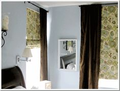 Mini Blinds into Roman Shades