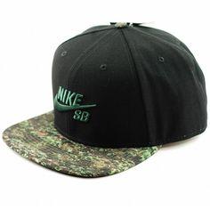 Nike SB Seasonal Snapback Green-Black