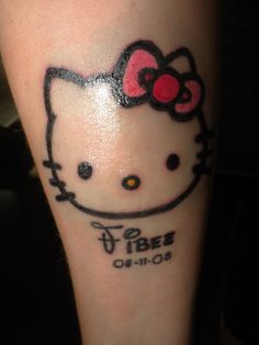 I want Hello Kitty on the back of my ear ^.^