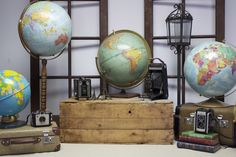 Globes, from $5 to $12, available in the greater Toronto area from Southern Charm Vintage Rentals  Photo: Courtesy of Southern Charm Vintage Rentals