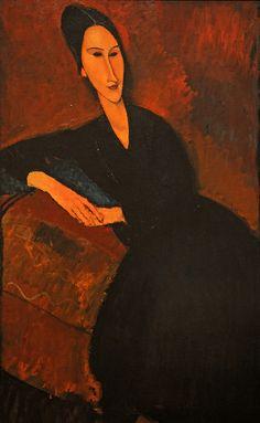 Ritratto di Anna Zborowska di Amedeo Modigliani 1917