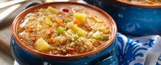 Esta sopa está preparada con vegetales y Quinua GOYA®, una semilla de los Andes que cuenta con un alto contenido de proteína, lo que convierte esta receta además de deliciosa, en un plato saludable. En Perú esta sopa se puede disfrutar a cualquier hora del día, incluso en el desayuno; además funciona como un delicioso antídoto para el clima frío de los Andes.