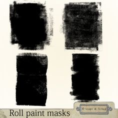 Roll paint masks by Black Lady Designs $3.00   Currently on sale for 25% off ion Aug 16 2014 Black Lady, Designing Women, Nifty, Black Women, Masks, Paint, Boutique, Paintings, Paint For Walls