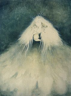 Selene, the Greek goddess of the moon by ~Kaelycea on deviantART