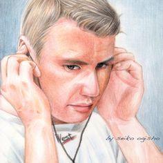 ミカ・ハッキネン Colored Pencils, Portrait, Art, Art Background, Colouring Pencils, Headshot Photography, Crayons, Men Portrait, Kunst