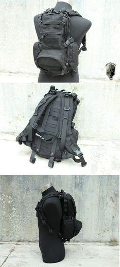 EbairSoft Airsoft parts & Tactical Gear - G TMC MOLLE Kangaroo Pack ( BK ) TMC1445