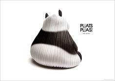プリーツ プリーズ イッセイ ミヤケ新ヴィジュアルは「アニマルズ」佐藤卓がデザイン   Fashionsnap.com