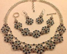 Checkered Circles Necklace Tutorial