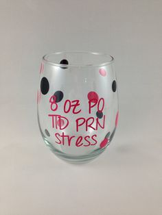 Stemless wine glass nurse appreciation gift 8 oz by BellaCuttery Nurses Week Gifts, Nurse Gifts, Teacher Gifts, Nurse Appreciation Week, Personalized Coasters, Grilling Gifts, Vinyl Crafts, Graduation Gifts, Diy Gifts