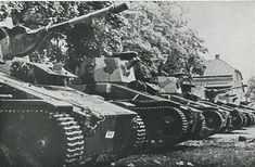 Latvian Vickers tanks