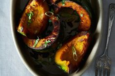 Dashi Braised Kabocha Squash Recipe on Food52