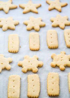 Lemon Shortbread Cookies