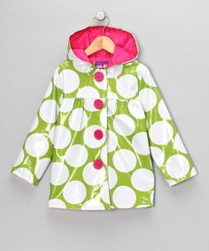 $16.99 by Pink Platinum & iXtreme Lime green rain coat