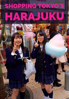 Crazy shopping and cosplay in Tokyo, Japan's famous Harajuku district. Find souvenirs, eat giant cotton candy and frozen popcorn in the teen (and adult) playground.