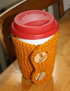 Hipknitized: Free Knitting Pattern: Button Up Coffee Sweater
