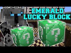 Minecraft: EMERALD LUCKY BLOCK (BLOCK OF PURE EPICNESS!) Mod Showcase - YouTube