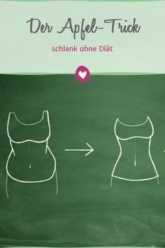 Get slim quickly without diet with the apple Schnell schlank ohne Diät mit dem Apfel-Trick With the apple trick, the pounds drop all by themselves. Health Facts, Health Tips, Weight Gain, How To Lose Weight Fast, Losing Weight, Loose Weight, Menu Dieta, Detox Drinks, Diet And Nutrition