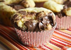Nutella cupcakes!!! What could be better?!