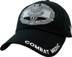 Combat Medic Ball Cap