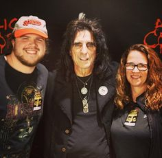Took my kick ass mom to see and meet the one and only this past weekend as an early gift ! Fantastic show and a great guy ! Caleb Johnson, Mothersday Gift, Fantastic Show, Past Present Future, Alice Cooper, American Idol, One And Only, Kicks, Meet