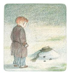The Snowman by Raymond Briggs The Snowman Movie, Snowman And The Snowdog, Winter Illustration, Children's Book Illustration, Book Illustrations, Raymond Briggs, Bloom Book, Co Trip, Snowman Quilt