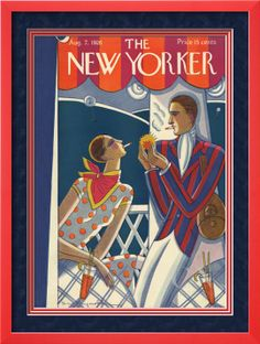 The New Yorker Cover - August 7, 1926 Poster Print by Stanley W. Reynolds at the Condé Nast Collection
