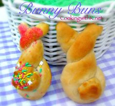 Southern | Cooking with K: Bunny Buns {A Fun Way To Serve Rolls For Your Easter Dinner}