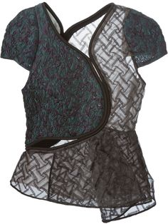 Shop 3.1 PHILLIP LIM quilted freeform top from Farfetch